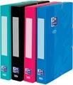 Oxford Touch elastobox uit karton, rug van 4 cm, met rugetiket, aqua