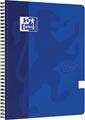 Oxford Touch spiraalblok, ft A4, 140 bladzijden, blauw, gelijnd