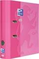 Oxford Touch ordner uit karton, voor ft A4, rug van 8 cm, roze
