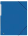 Oxford Top File+ elastomap, voor ft A3, blauw