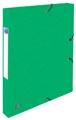 Elba elastobox Oxford Top File+ rug van 2,5 cm, groen