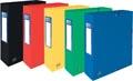 Elba elastobox Oxford Top File+ rug van 6 cm, geassorteerde kleuren