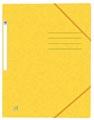 Oxford Top File+ elastomap uit karton, ft A4, geel