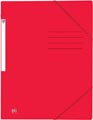 Oxford Top File+ elastomap, voor ft A4, rood