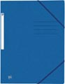 Oxford Top File+ elastomap, voor ft A4, blauw