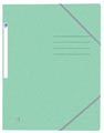 Oxford Top File+ elastomap, voor ft A4, pastelgroen