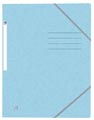 Oxford Top File+ elastomap, voor ft A4, pastelblauw