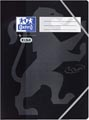 Oxford Touch elastomap uit karton, ft A4, zwart