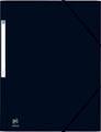 Elba Oxford Eurofolio elastomap, voor ft A4, zwart