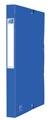 Elba elastobox Oxford Eurofolio rug van 2,5 cm, blauw