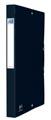 Elba elastobox Oxford Eurofolio rug van 2,5 cm, zwart