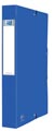 Elba elastobox Oxford Eurofolio rug van 4 cm, blauw