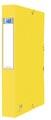 Elba elastobox Oxford Eurofolio rug van 4 cm, geel