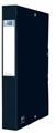 Elba elastobox Oxford Eurofolio rug van 4 cm, zwart