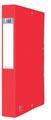 Elba elastobox Oxford Eurofolio rug van 4 cm, rood