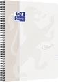 Oxford School Touch bloc spirale, ft A4, 140 pages, ligné, gris
