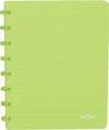 Atoma schrift Trendy ft A5, gelijnd, transparant groen