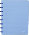 Atoma schrift Trendy ft A5, geruit 5 mm, transparant blauw