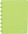 Atoma cahier Trendy ft A5, quadrillé commercial, vert transparent