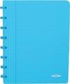 Atoma cahier Trendy ft A5, quadrillé commercial, turquoise transparent