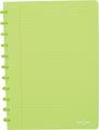 Atoma schrift Trendy ft A4, gelijnd, transparant groen