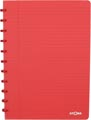Atoma cahier Trendy ft A4, ligné, rouge transparent