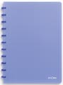 Atoma schrift Trendy ft A4, geruit 5 mm, transparant blauw