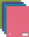 OXFORD Memphis protège documents 50 pochettes, couleurs assorties