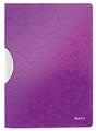 Leitz WOW klemmap Colorclip, ft A4, paars