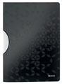 Leitz WOW klemmap Colorclip, ft A4, zwart