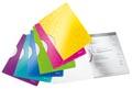Leitz WOW klemmap Colorclip, ft A4, geassorteerde kleuren