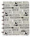 Atoma schrift Quotes, ft A5, 144 bladzijden, gelijnd, geassorteerde kleuren