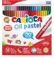 Carioca oliepastels, doos van 50 stuks in geassorteerde kleuren