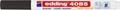 Edding Marqueur craie e-4085, pointe ronde de 1 - 2 mm, noir