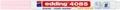 Edding Marqueur craie e-4085, pointe ronde de 1 - 2 mm, rose pastel