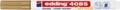 Edding Marqueur craie e-4085, pointe ronde de 1 - 2 mm, or