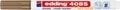 Edding Marqueur craie e-4085, pointe ronde de 1 - 2 mm, cuivre