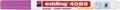 Edding Marqueur craie e-4085, pointe ronde de 1 - 2 mm, framboise
