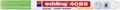 Edding Marqueur craie e-4085, pointe ronde de 1 - 2 mm, vert néon