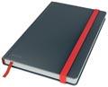 Leitz Cosy carnet de notes avec couverture dûre, pour ft A5, quadrillé, gris