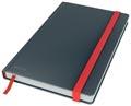 Leitz Cosy carnet de notes avec couverture dûre, pour ft A5, ligné, gris
