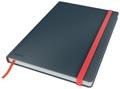 Leitz Cosy carnet de notes avec couverture dûre, pour ft B5, quadrillé, gris