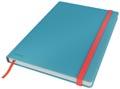 Leitz Cosy notitieboek met harde kaft, voor ft B5, gelijnd, blauw