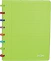 Atoma schrift Tutti Frutti ft A5, geruit 5 mm, transparant groen