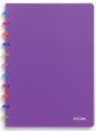 Atoma schrift Tutti Frutti ft A4, geruit 5 mm, transparant paars