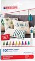Edding textielstift 4600, doos met 10 stuks in geassorteerde kleuren