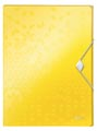 Leitz WOW elastobox ft A4, geel