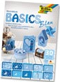 Folia Papier avec motif Basics bleu