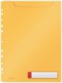 Leitz Cosy harmonica showtas, ft A4, geel