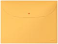 Leitz Cosy projectomslag A4, 2 compartimenten, uit PP, geel